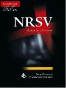 【SPECIAL PRICE】【20%OFF】英語 聖書 NRSV  NR563:X   <br> (革装黒色 Black Leather)の商品画像