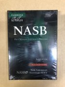 【SPECIAL PRICE】【20%OFF】英語旧新約聖書 NASB NS446:XR    (革装茶色 Brown Leather)の商品画像
