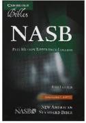 【SPECIAL PRICE】【20%OFF】 英語旧新約聖書 NASB NS446:XR  (革装黒色 Black Leather)の商品画像