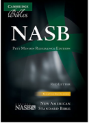 【SPECIAL PRICE】【20%OFF】 英語旧新約聖書 NASB NS444:XR<br>革装黒色 Black Leatherの商品画像