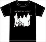 【70%OFF】ナイトdeライト<br> Tシャツ (ブラック) Lサイズ (48853)の商品画像