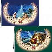 グリーティングカード2×2 クリスマス10020 AVACOの商品画像