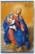 カトリック手帳2021 ポケット判<br>「ロザリオの聖母」の商品画像