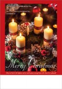 クリスマスプログラム用紙 XP20B(50枚入り)ルカ2:14 (59885)A4判の商品画像