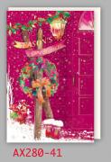 【DAG掲載/取り寄せ】クリスマスカード AX280-41の商品画像