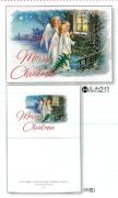 【Olives掲載/取り寄せ】クリスマスカード(封筒付き)H 天使の訪れ 59917の商品画像