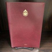 聖公会手帳( 大) 2021 表紙:エンジの商品画像