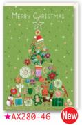 【DAG掲載/取り寄せ】クリスマスカード AX280-46の商品画像