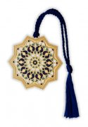 ブックマーク 幾何学的な星もよう_BKS9598の商品画像