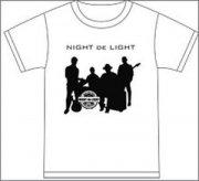 【70%OFF】ナイトdeライト<br> Tシャツ (ホワイト) Mサイズ (48845)の商品画像