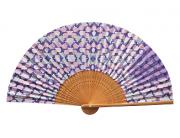 【SPECIAL PRICE】【30%OFF】京扇子 ジャパニーズ・ローズFF-16A(ケース付き)(55083)の商品画像