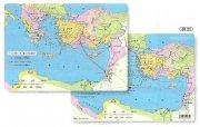 【Olives掲載/取り寄せ】したじき 聖書地図 パウロの伝道旅行とローマへの旅 50130の商品画像