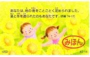 AVACO豆カード 63-14の商品画像