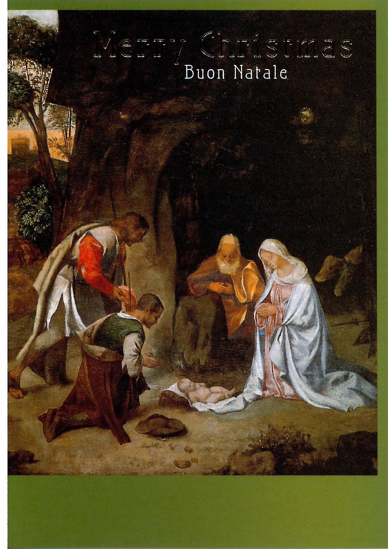 【SPECIAL PRICE】アート・クリスマスカード「羊飼いの礼拝」の商品画像