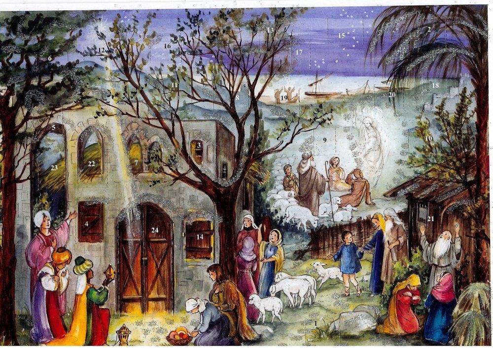 【Olives掲載】 アドベントカレンダー 降誕ストーリー 59721の商品画像