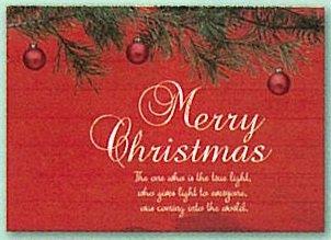 【DAG掲載】クリスマスカード もみの木とオーナメント NL008の商品画像