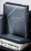 【送料無料】新共同訳 中型聖書 ジッパー・サムインデックスつきNI55ZTI シルバーの商品画像