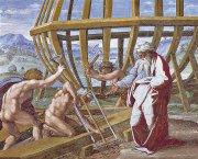 �箱舟の建造<br>アートバイブル額装絵画シリーズの商品画像
