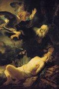 �イサクの犠牲<br>アートバイブル額装絵画シリーズの商品画像