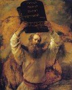 �モーセと十戒<br>アートバイブル額装絵画シリーズの商品画像