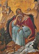 �鳥に養われる預言者エリヤ<br>アートバイブル額装絵画シリーズの商品画像