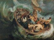 24 嵐の中の奇跡<br>アートバイブル額装絵画シリーズの商品画像