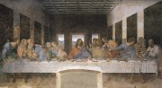33 最後の晩餐<br>アートバイブル額装絵画シリーズの商品画像