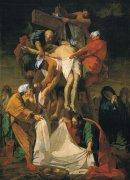 37 十字架降下<br>アートバイブル額装絵画シリーズの商品画像