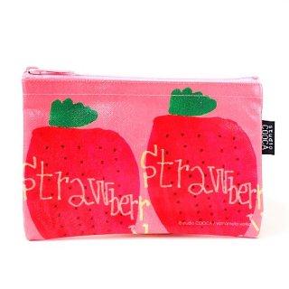 ミニポーチ yoriko yamamoto/strawberry