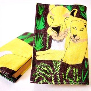 ブックカバー sanchan -lion-