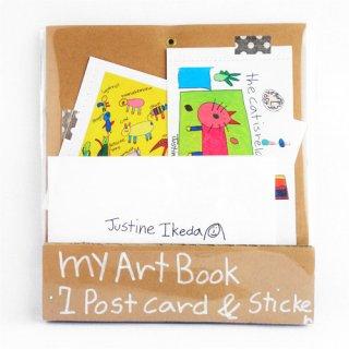 Justine my Art Book【ウェブ&ギャラリークーカ限定】