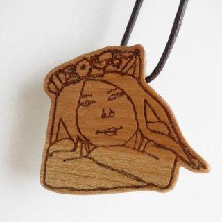 木製キーホルダー shuto yoshida/はなかんむり
