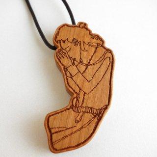 木製キーホルダー shuto yoshida/祈り
