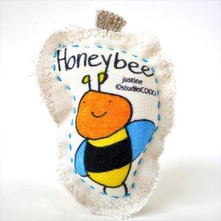 キーホルダー<br />justine_honeybee