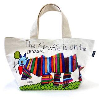 ミニトートバッグ「justine_giraffe」