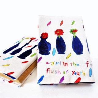 ブックカバー mizuno -flower-