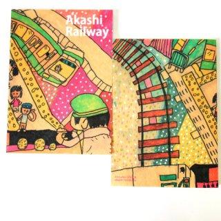 ブックノート hirokazu akashi/AKASHI RAILWAY
