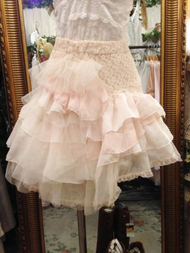Comyu ハンドメイド ミニパフェスカート