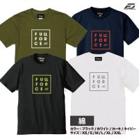 <img class='new_mark_img1' src='https://img.shop-pro.jp/img/new/icons5.gif' style='border:none;display:inline;margin:0px;padding:0px;width:auto;' />【綿タイプ】フルフォース スクエアロゴTシャツ