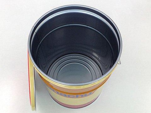神奈中バスカラー オリジナルペール缶