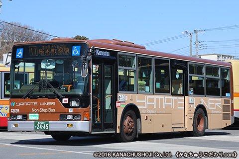 ハイブリッド路線バス