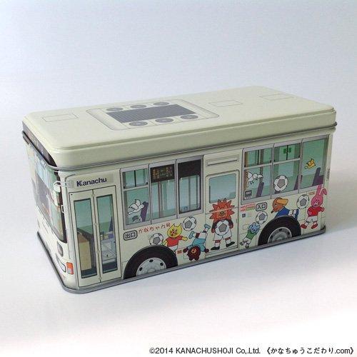 かなちゃん号バス缶