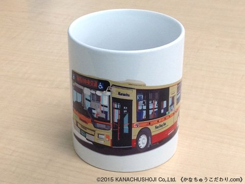 神奈中バスマグカップ