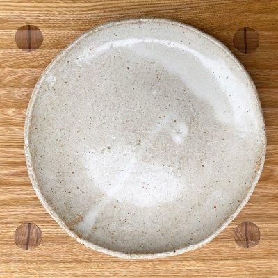 8寸大皿(白)
