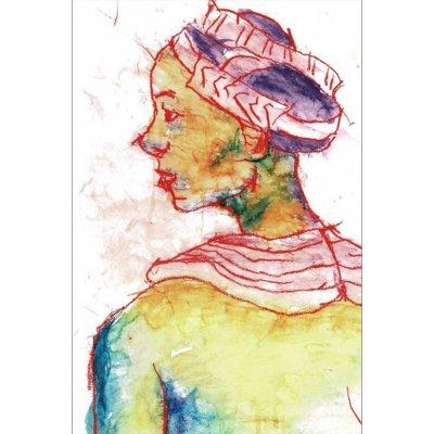 ポストカード<br>「アフリカの花嫁」