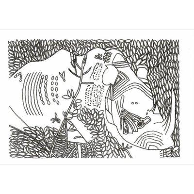 ポストカード<br>「ヨナワールド103」