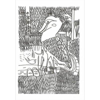 ポストカード<br>「ヨナワールド111」