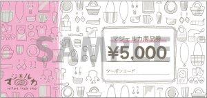 商品券(¥5,000)