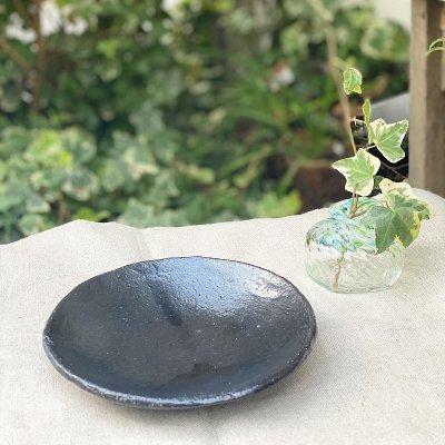 6寸皿(黒)