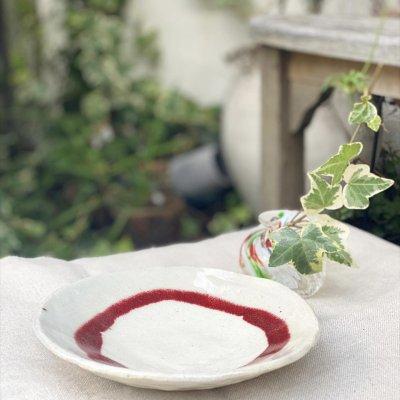 6寸皿(赤丸)